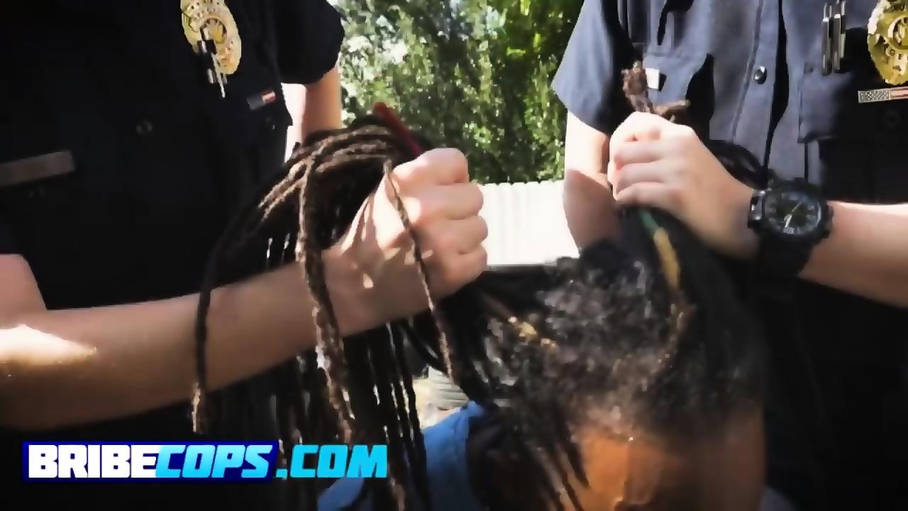 Actriz Porno Ebony Con Rastas busty cops dominating a rasta boner like whores - eporner