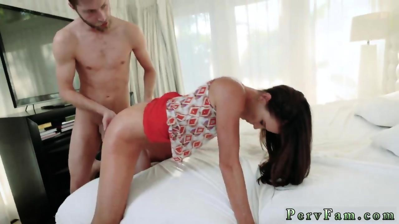 Big Tits Teen Riding Dildo