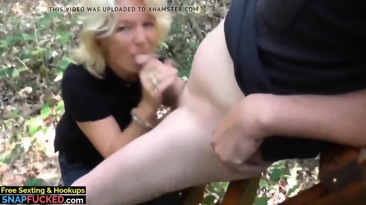 MILF porno massasje