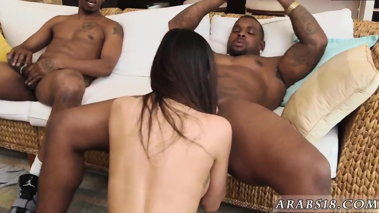 Big Black Girl Threesome