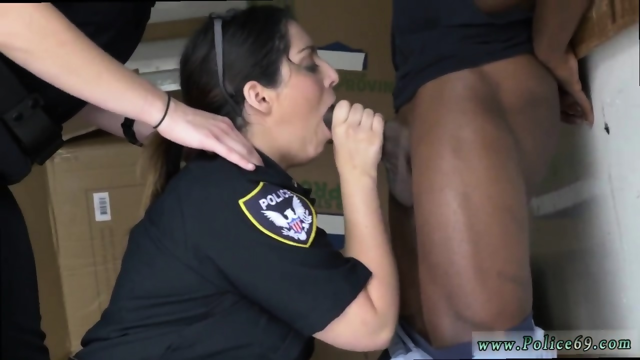 Ebony White Cock Blowjob