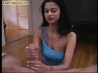 Foot job in heel