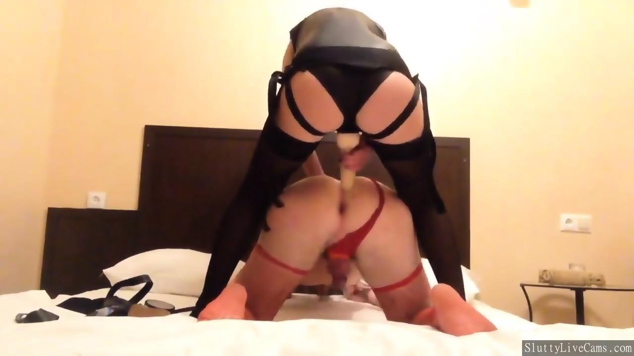 on mistress Strap