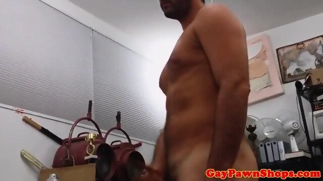 Gaybait Pawnshop Amateur Riding Cock For Cash