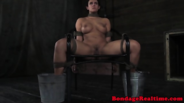 Tiedup bdsm sub toyed while bound 4