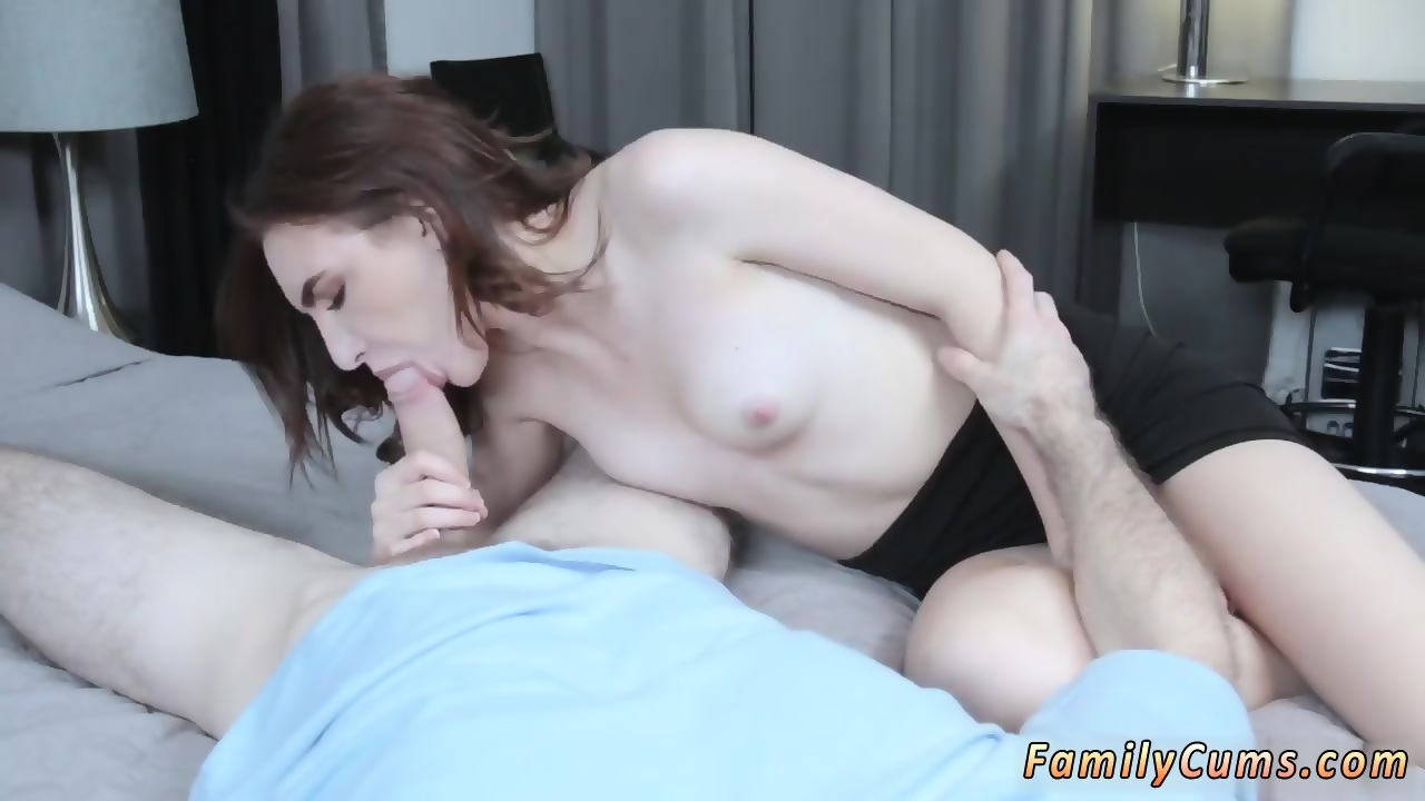Redhead girl showing pussy