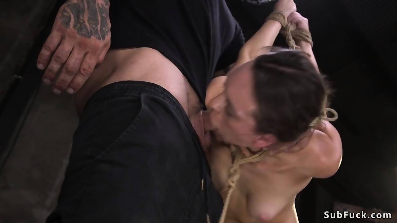 Deep throat slave
