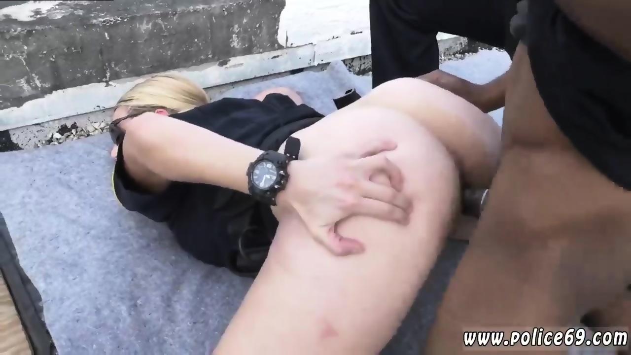 Interracial peeping tom porn