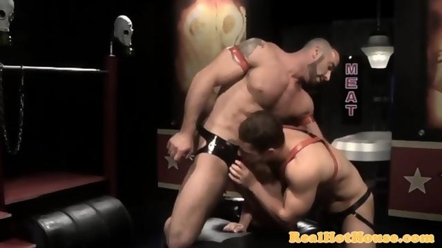 Greedy Muscular Stud Ass Slamming