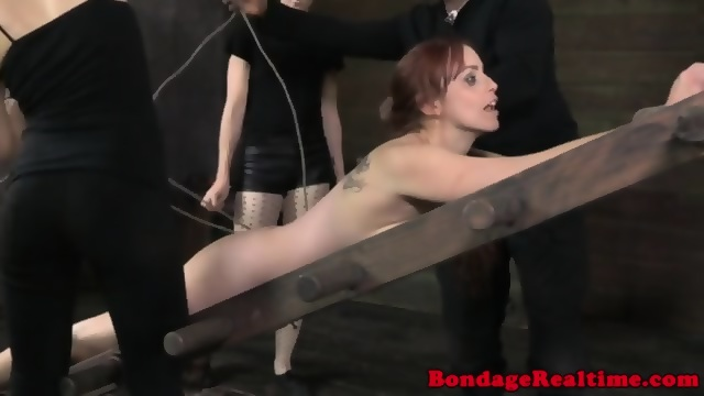 tortured Women tied up and