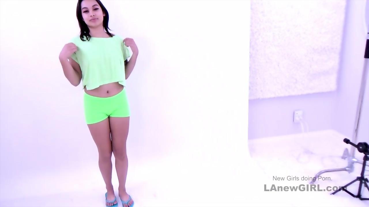 Alex Modeling Audition Porno gorgeous brunette model gets fucked at modeling audition