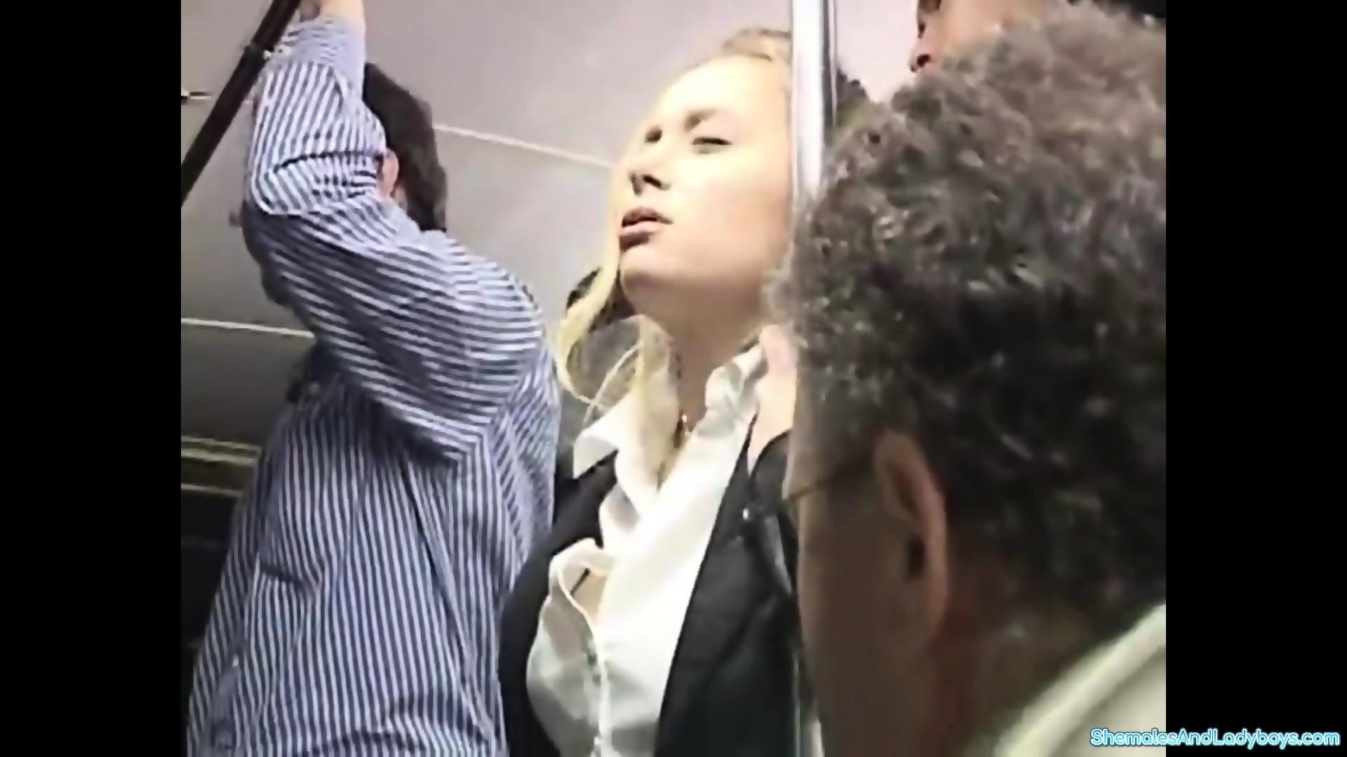 Curvy Blonde Fucked Orgasm
