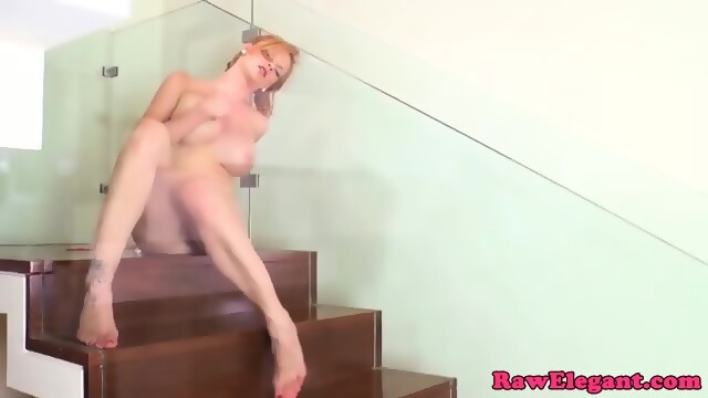 Real euro skanks covered in cum at sexparty 5