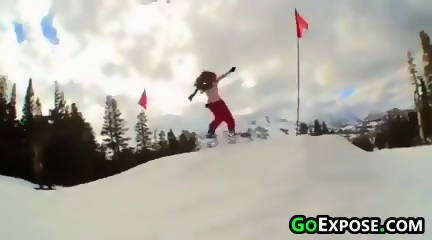 Sex tape naked whore on a snowboard orlow finally