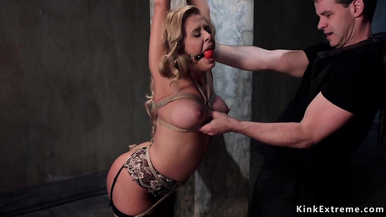lesbian bondage Busty