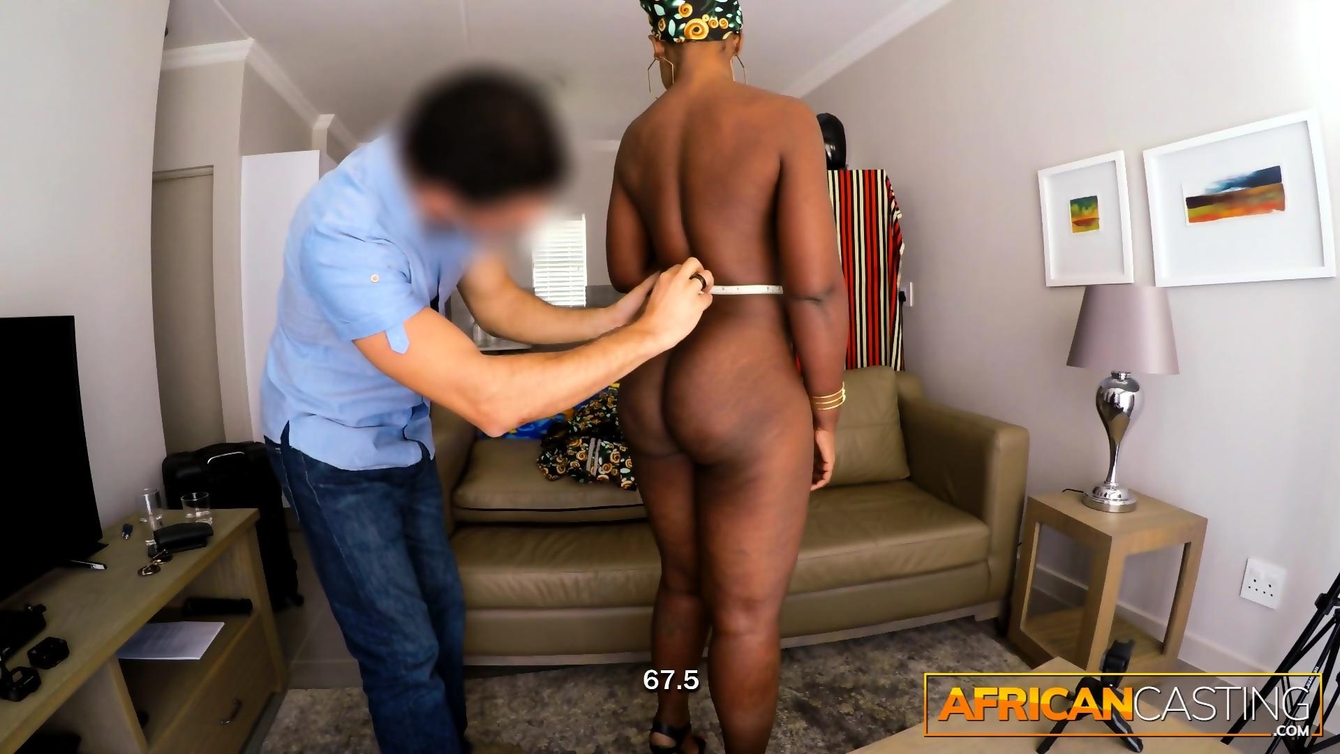 Ebony Wants Big White Cock