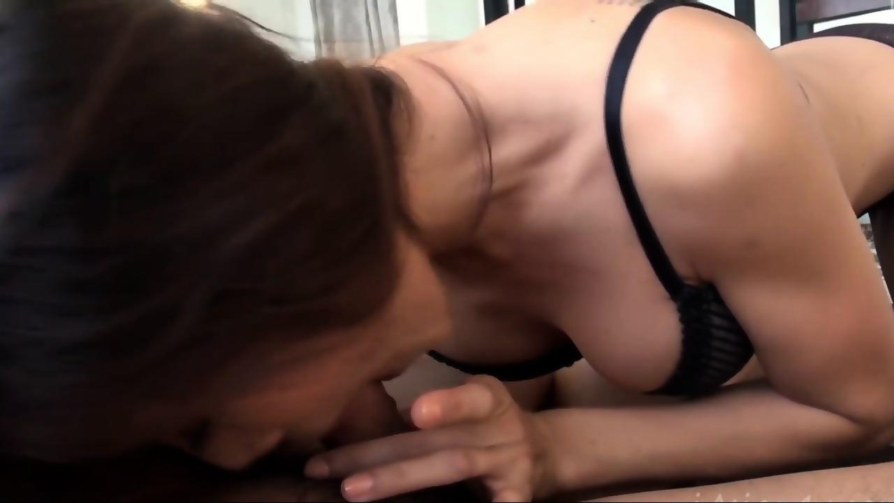 Hot Blonde Girlfriend Blowjob