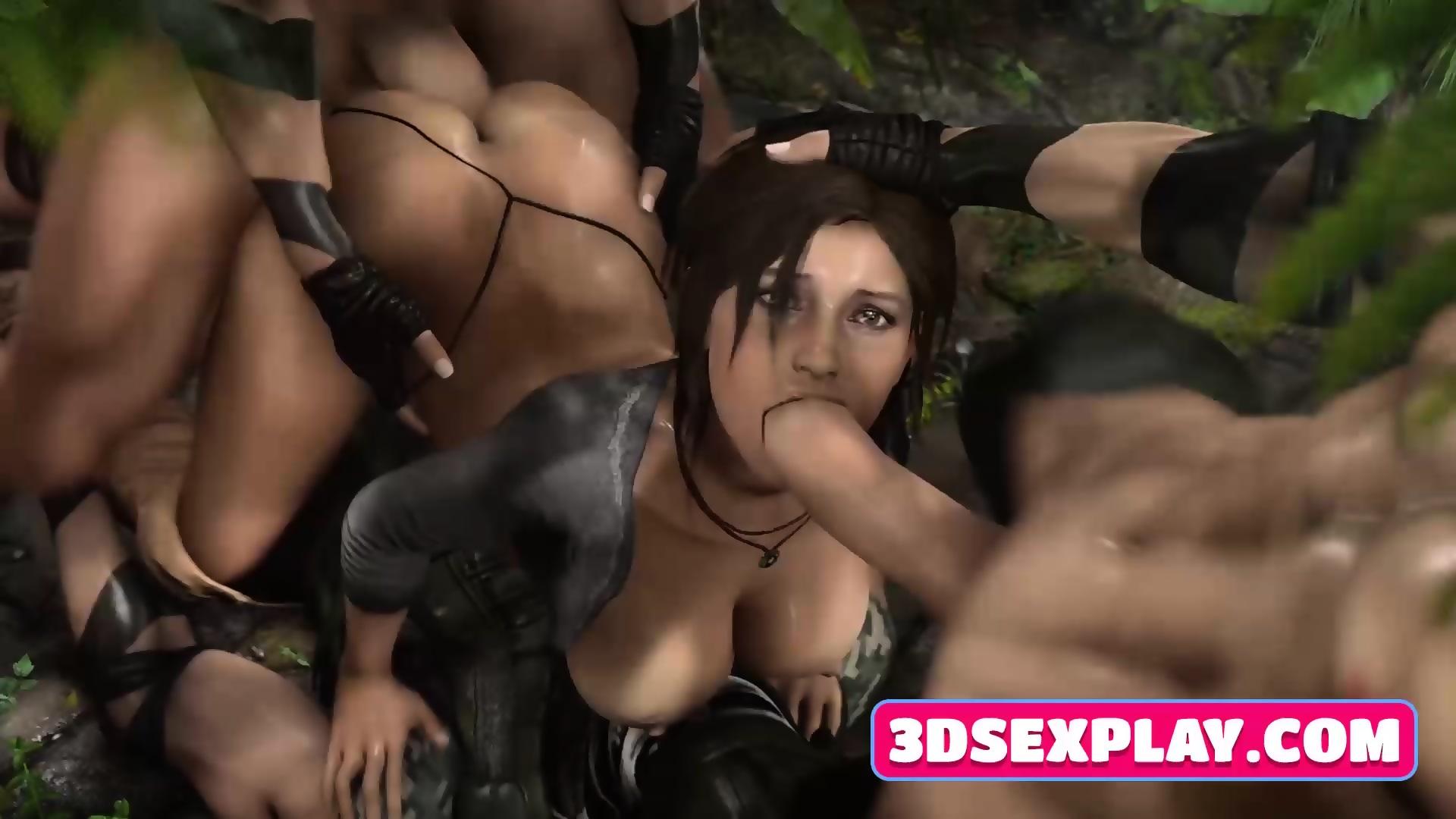 Porno Tomb Raider