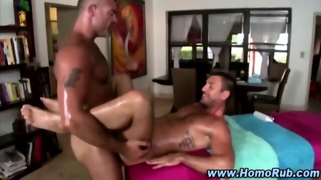 Amateur gay anal fuck action