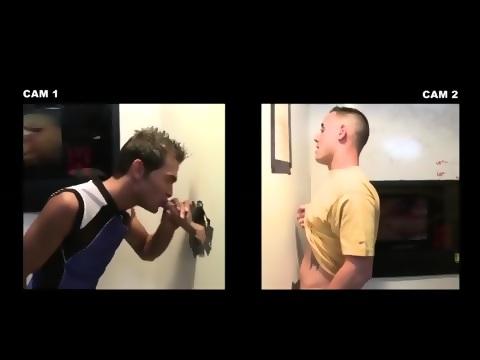Dumb straighty gay bj action