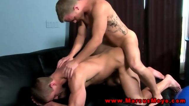 Jock Slams Muscly Pornstars Ass