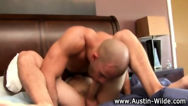 Pornstar Austin Wilde Blowjob And Rimming