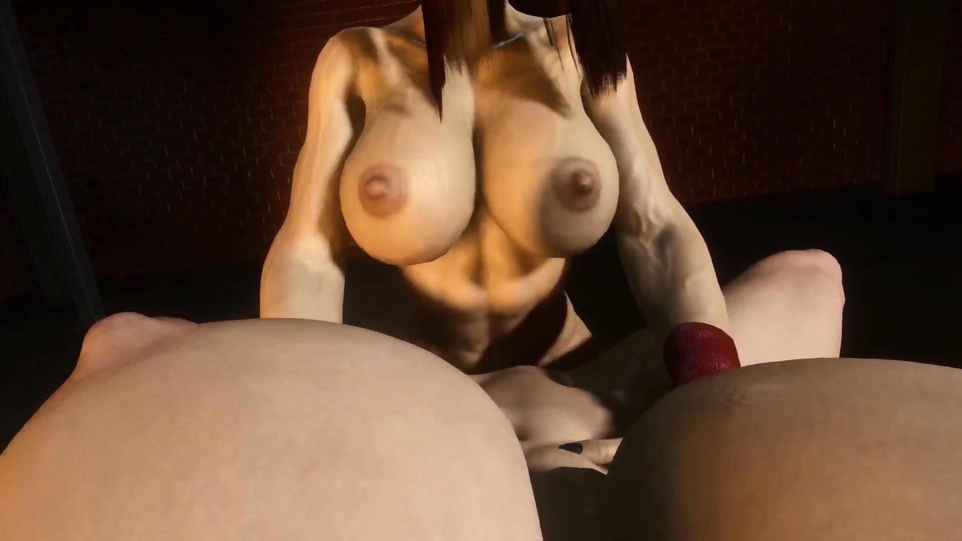 Big Tits Girlfriend Home Made
