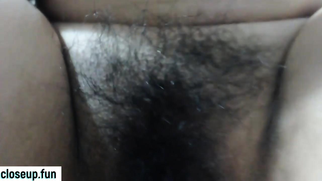 Hot Latina Pussy Close Up