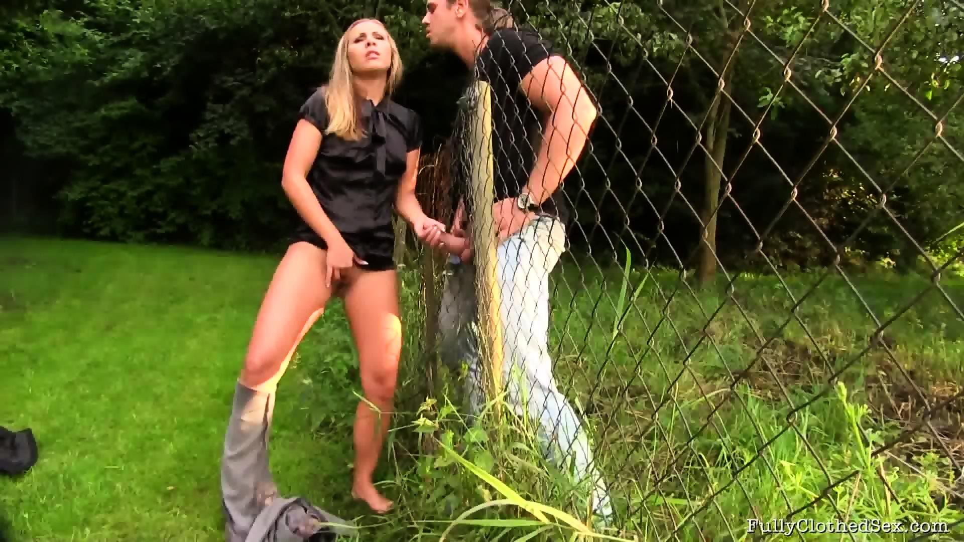sex through fence