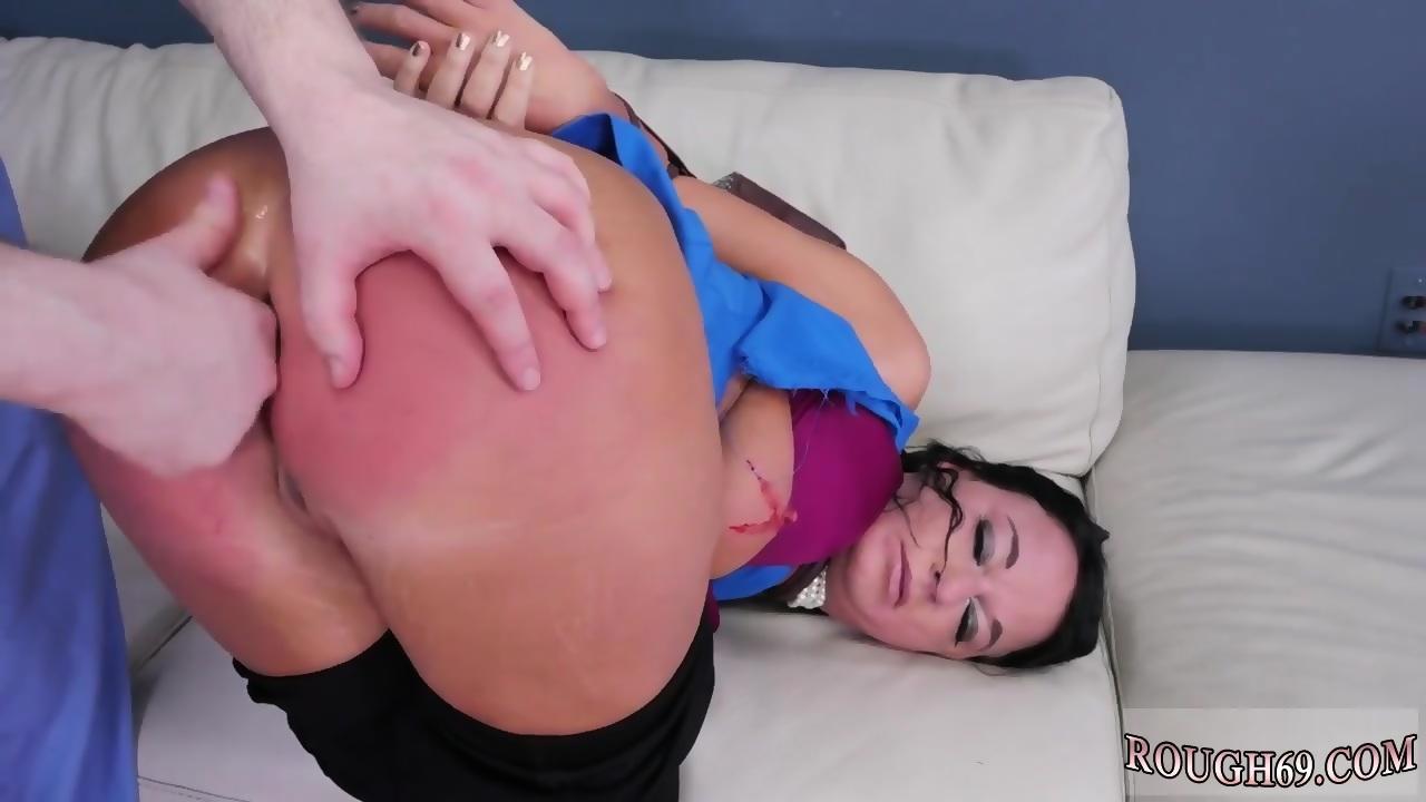 big tits babe rough creampie