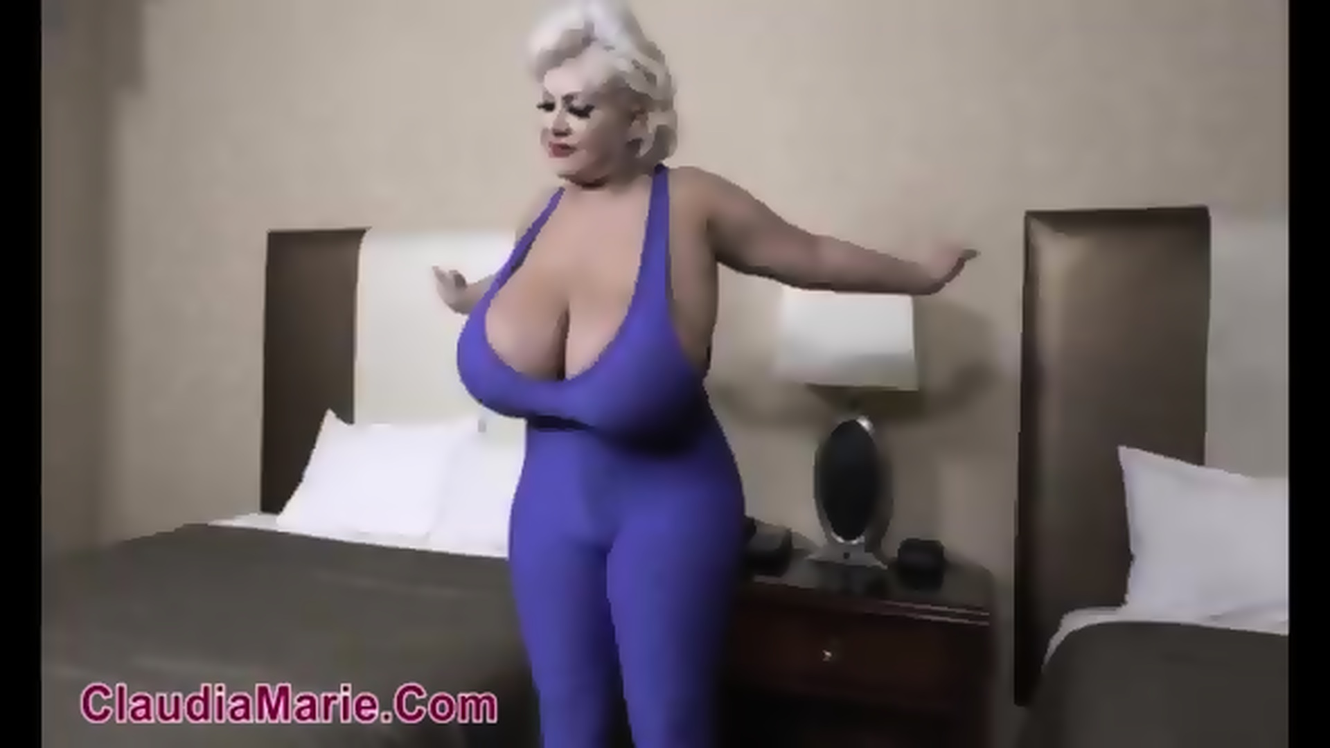 Claudia marie implants pumped and popped