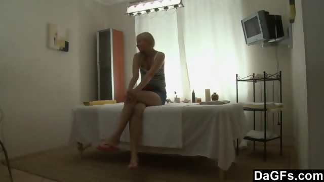 Horny during massage