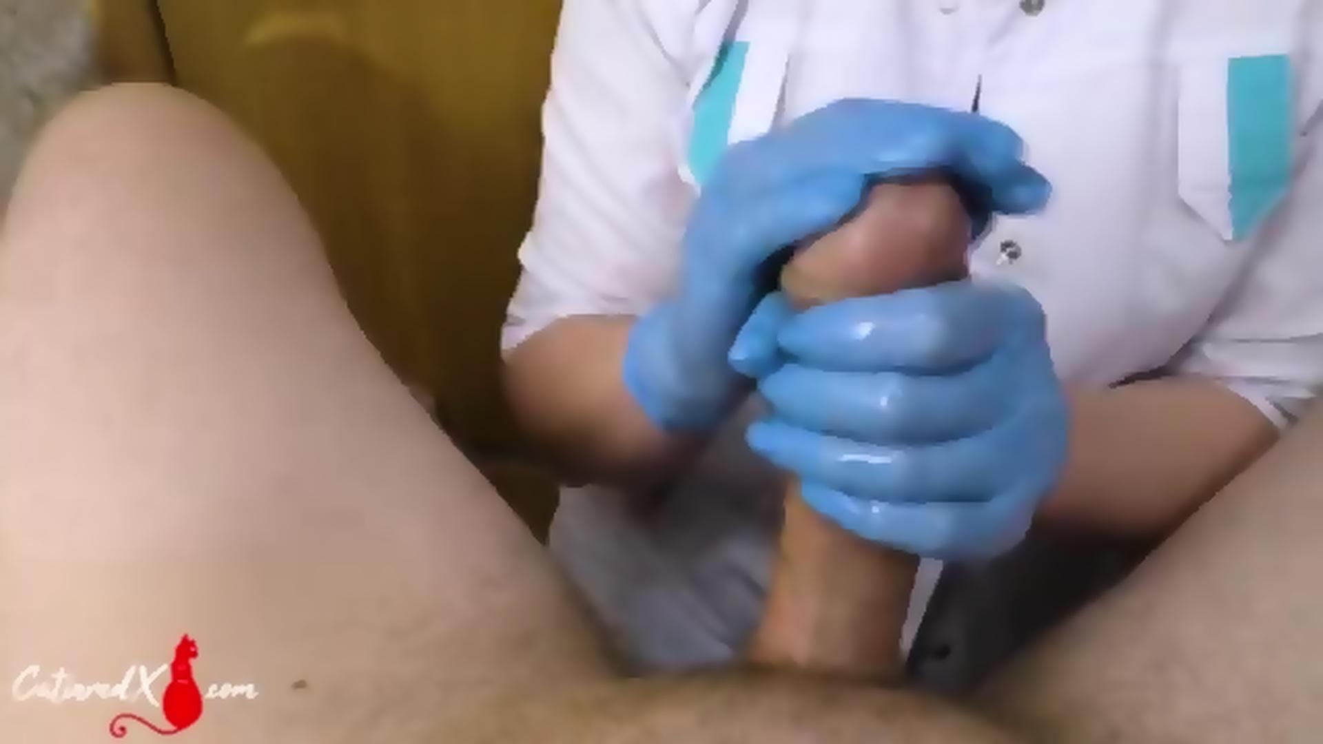 Gloves Handjob