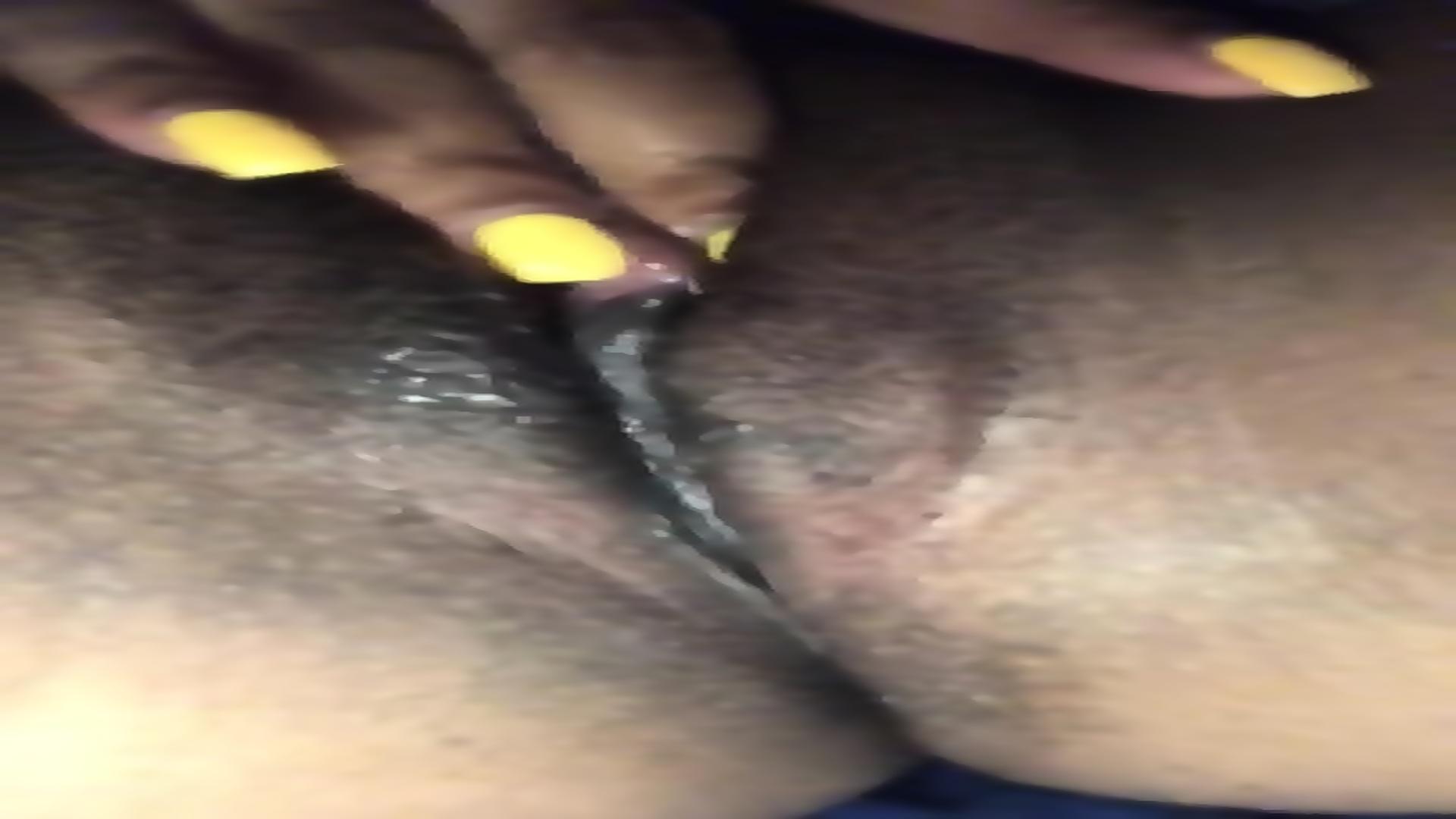 Wet Slimy Pussy Masturbation