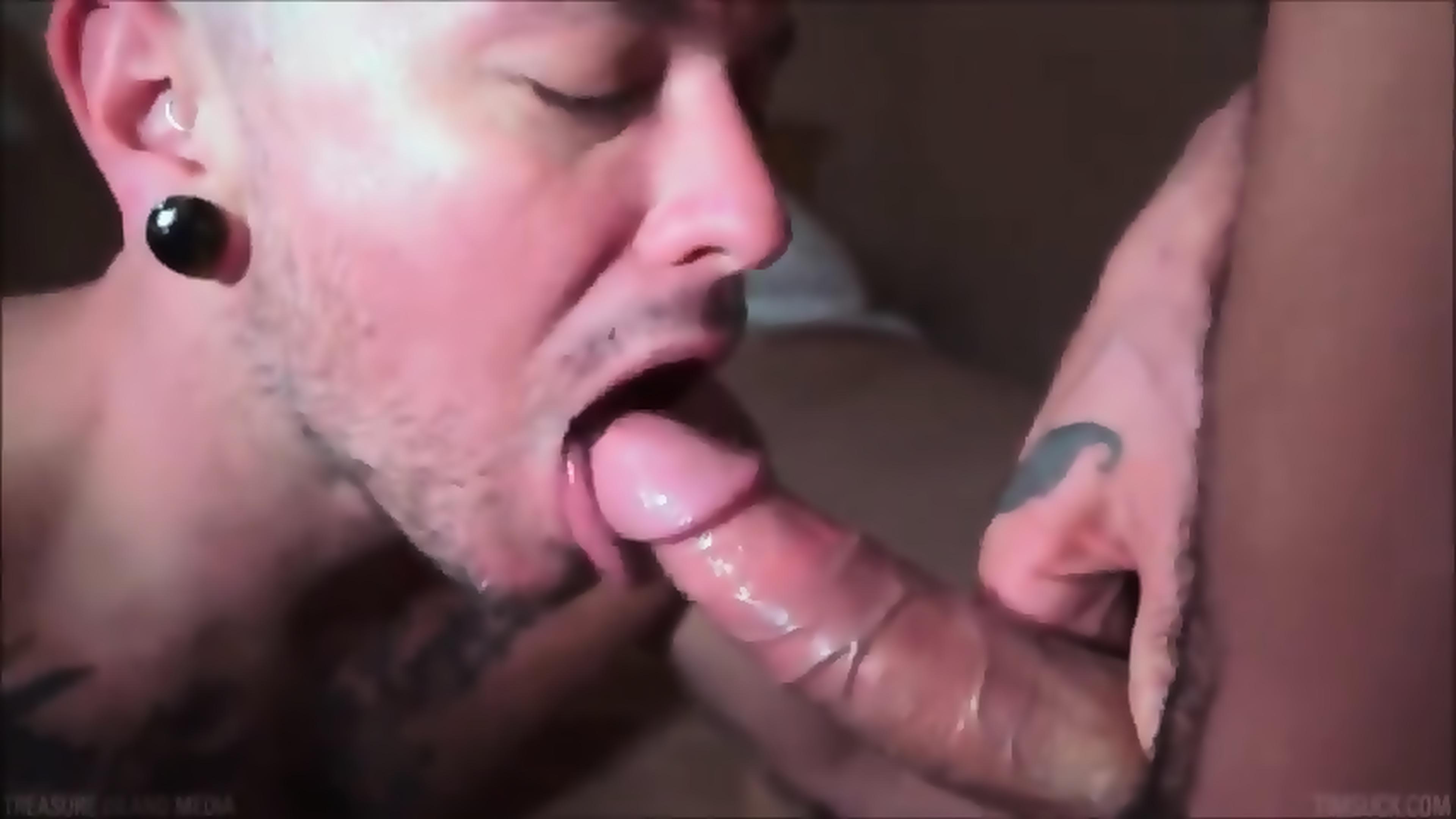 Gay Mouth Cum