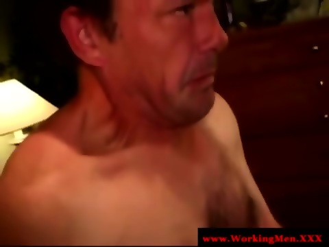 Mature straight bears first gay blowjob