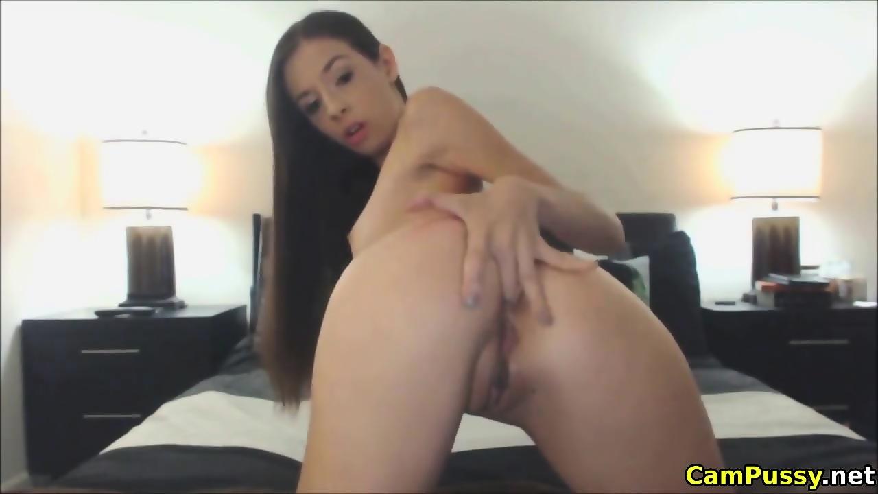 Sexy Maid Masturbates Dildo