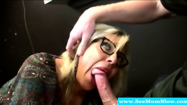 Amateur Hot Blonde Blowjob