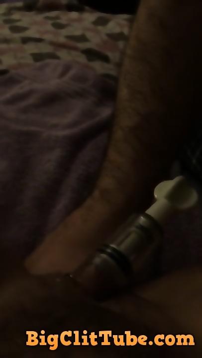 First time clit pump