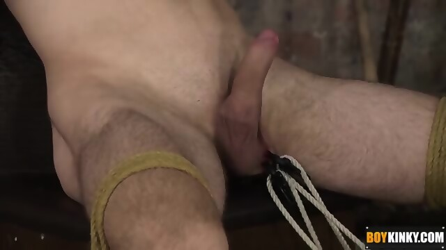 Daniel ross gets tied up and bareback fucked by luke allen 9