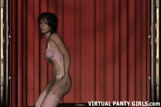 Chicas stripper virtuales