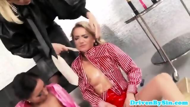 Busty brit amateur cockriding cabbie 9
