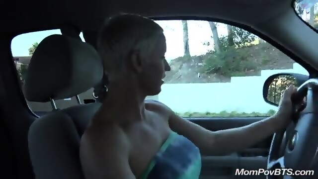 Big Fake Tit Blonde Milf