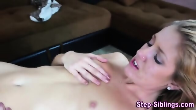 Fast and sloppy blowjob