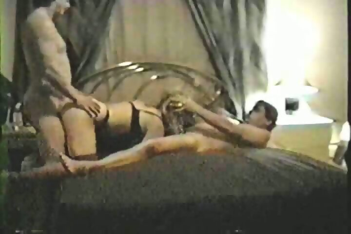 Abbie cat giving blowjob to lucky older guy