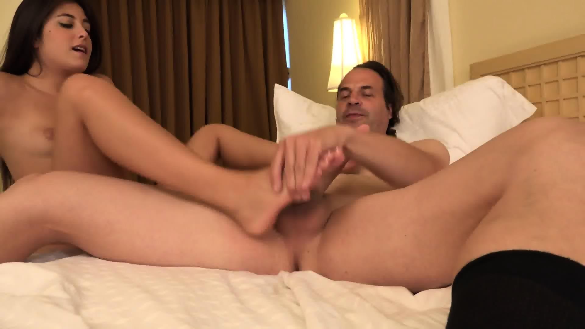 Dad fucks daughter and masturbation naturaltits