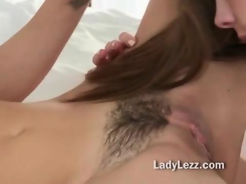 Deep tongue fucking