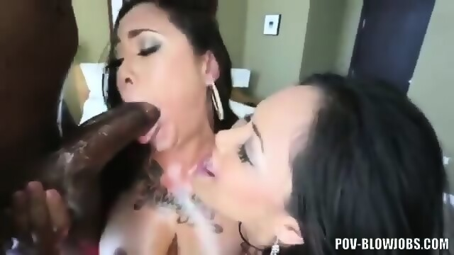 Making sex with nude in the club