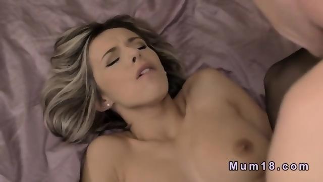 Blonde Milf In Lingerie Fucking In Bed Scene 4