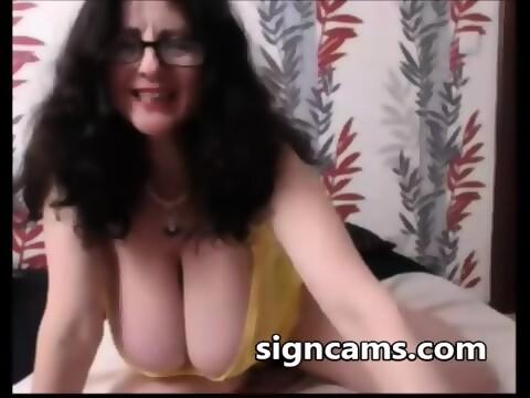 Amateur granny big tits improbable